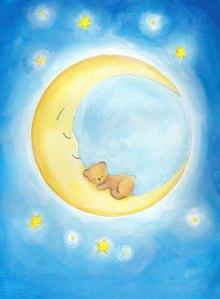 http://www.etsy.com/listing/112766778/baby-moon-bear-nursery-decor-boy-girl